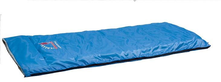 Спальный мешок ARIZONA от -1 C (одеяло 195X85см)Спальники<br>Спальный мешок ARIZONA от -1 C (одеяло 195X85см)<br>Спальный мешок-одеяло с увеличенными размерами <br>– сочетание отличного комфорта с высокой <br>универсальностью<br>Спальный мешок Indiana Arizona рассчитан на температуру <br>до -1°C. Его можно использовать не только <br>во время путешествий, но и для повседневной <br>жизни, на даче или дома<br>Характеристики <br>Тип: спальный мешок<br>Вид: одеяло<br>Особенности: компрессионный мешок<br>Экстремальная температура: -1°C<br>Нижняя температура комфорта: +7°C<br>Верхняя температура комфорта: +22°C<br>Материал наружный: полиэстер<br>Материал подкладки: полиэстер<br>Наполнитель: Hollowfiber<br>Размер: 195x85 см<br>Размер в чехле: ф20х40 см<br>Вес: 1,23 кг<br><br>Сезон: лето