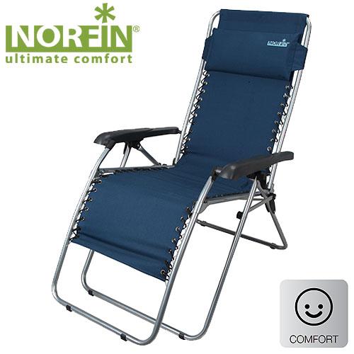 Кресло-Шезлонг Norfin Somero NflСтулья, кресла<br>Складное кресло-шезлонг подойдет для отдыха <br>и рыбалки. У модели существует возможность <br>подбора и фиксации положения спинки и подножки, <br>удобные подлокотники, регулируемая по высоте <br>подушка-подголовник. Особенности: - габариты <br>54x53x53/117 см; - размер в сложенном виде 71,5x12x98 <br>см; - максимальная нагрузка 120 кг; - каркас: <br>сталь 22 мм.<br><br>Сезон: лето<br>Цвет: синий<br>Материал: 600D polyester