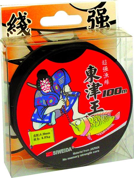 Леска SWD Samurai (ST3) 100м 0,30 (8,97кг) прозрачнаяЛеска монофильная<br>Монофильная леска высшего качества сечением <br>0,30мм (разрывная нагрузка 8,97кг) в размотке <br>по 100м (индивидуальная упаковка). Не имеет <br>механической памяти. Отличается повышенной <br>прочностью на узле, высокой сопротивляемостью <br>к истиранию и воздействию ультрафиолетовых <br>лучей. Цвет - прозрачный. Рекомендуется <br>для спиннинговой и донной ловли.<br><br>Сезон: лето