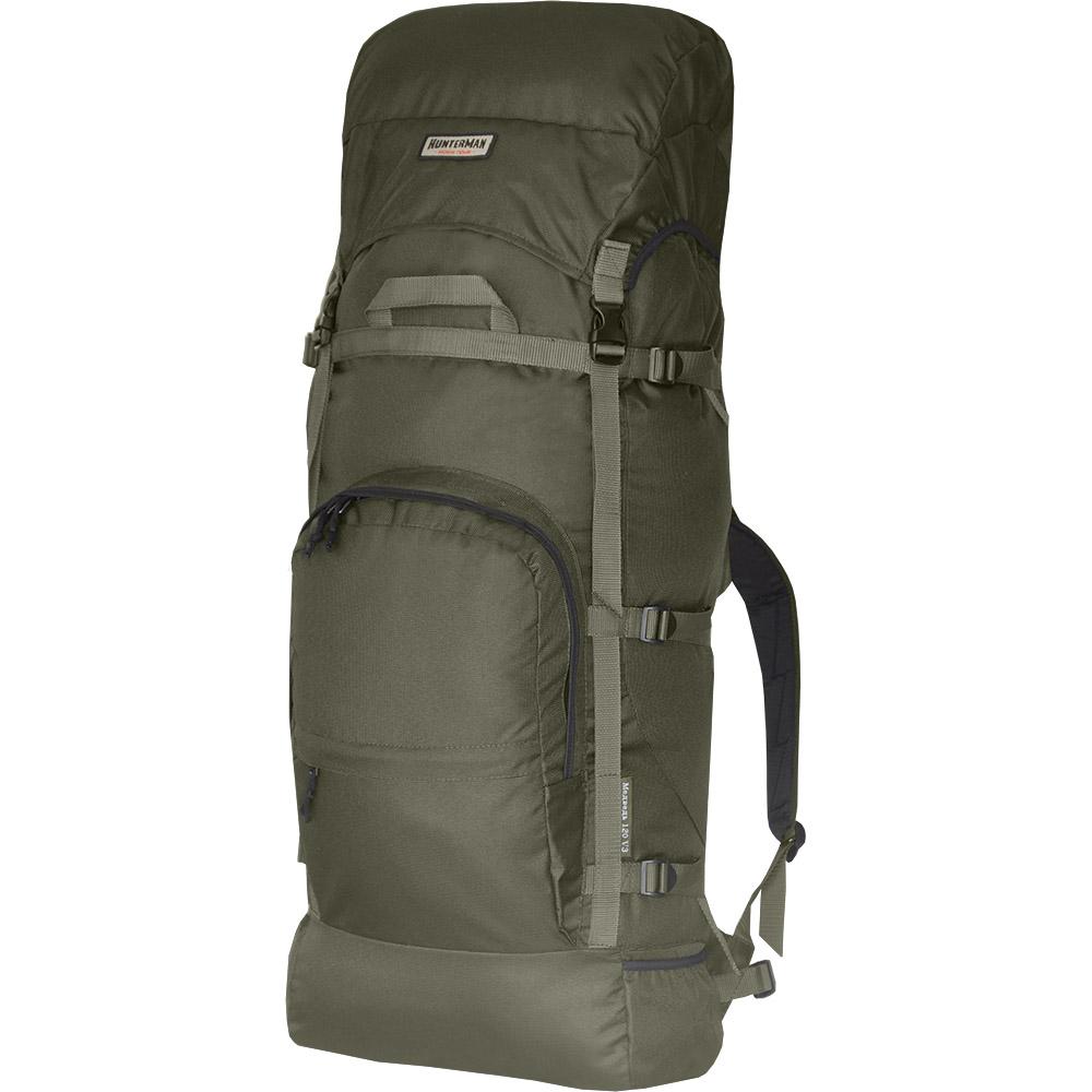 Рюкзак для охоты Медведь 120 V3 NOVA TOURРюкзаки<br>Вместительный рюкзак для охоты и рыбалки. <br>Регулировка подвесной системы рюкзаков <br>этой модели максимально проста и не требует <br>времени на подгонку. Широкий поясной ремень <br>отлично фиксируется на бедрах, принимая <br>на себя до 80 процентов веса. Удобный карман <br>на фронтальной части и боковые кармашки <br>для длинномерных предметов. Размеры: Высота <br>120см. Ширина 60см. Длина 38см.<br><br>Пол: унисекс<br>Цвет: оливковый
