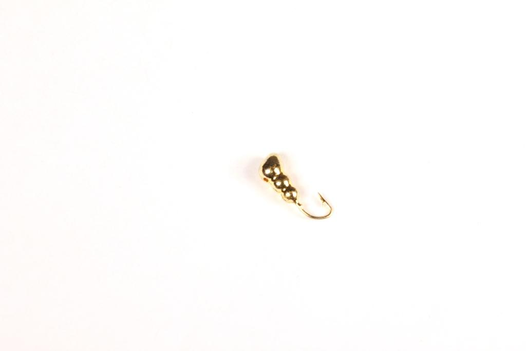 Морм. Вольф.Dixxon-Rus муравей с отверстием Мормышки<br>Мормышка вольфрамовая для подледной ловли. <br>Крючок - FUDO (Япония) Вес - 1,70 г Цвет - золото<br>