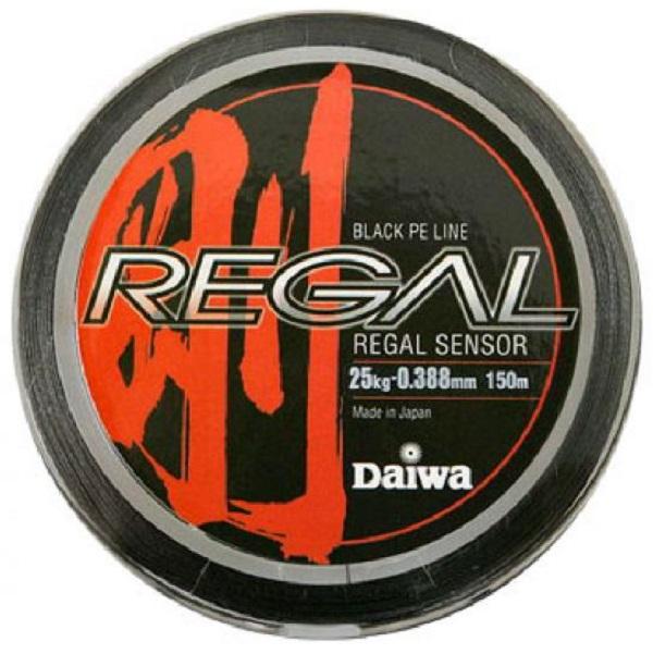 Леска плетеная Daiwa Regal Sensor 25-150Леска плетеная<br>Плетеный шнур с большим запасом прочности, <br>и максимально круглым сечением.<br>