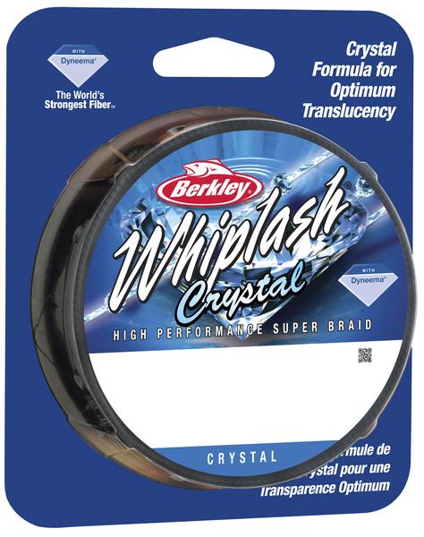 Леска плетеная BERKLEY WHIPLASH 0.20mm (110m)(26.4kg)(прозрачная)Леска плетеная<br>Исключительно прочный шнур идеально подойдет <br>рыболовам, которым нужен действительно <br>прочный шнур. Троллинг, глубоководная ловля <br>на джиг, ловля крупных сомов, карпов – везде <br>можно использовать шнур Whiplash.<br>
