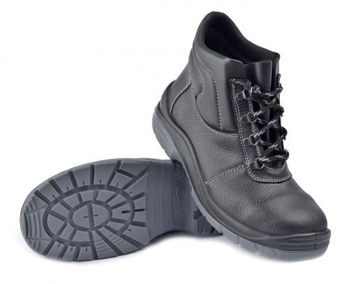 Ботинки Профит (ПУ/ТПУ) (44)Ботинки универсальные и рабочие<br>Универсальная высокотехнологичная модель <br>обеспечит комфорт и надежную защиту Ваших <br>ног, но главное – снизит травматизм. Верх <br>ботинок выполнен из натуральной кожи. Мягкий <br>кант из винилискожи защищает от боковых <br>ударов. Прочная, мягкая и превосходно дышащая <br>подкладка позволяет ощущать комфорт в течении <br>длительного времени. Двухслойная ПУ/ТПУ <br>подошва обеспечивает хорошее сцепление <br>с поверхностью при температуре от -45 до <br>+120С в статическом положении, а при ходьбе <br>до +150С. Подошва устойчива к воздействию <br>агрессивных сред, МБС, КЩС. Вся область каблука <br>специально спроектирована таким образом, <br>чтобы поглощать удар (амортизировать) при <br>толчке и снижать ощущение усталости, передаваемое <br>на тело. Толщина подошвы обеспечивает отличную <br>теплоизоляцию. Самоочищающийся протектор. <br>Высота берец 135мм. ГОСТ28507-99, ГОСТ12.4.137-2001, <br>ТР ТС019/2011<br><br>Пол: унисекс<br>Размер: 44<br>Сезон: лето<br>Материал: натуральная кожа