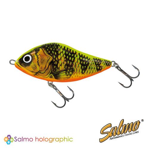 Воблер Плавающий Джеркбейт Salmo Slider F 06/gfpВоблеры<br>Воблер плав. джеркбейт Salmo SLIDER F 06/GFP пласт./расцв.GFP/дл.60мм/вес <br>10,5г/гл.0,5м(спин-тролл) • Вид приманки – глайдер <br>(разновидность джеркбейтов) • В ассортименте <br>SALMO c – 2003 • Предлагаемый размер (см) – 5, <br>6, 7, 10, 12 • Предлагаемые типы – F, S • Предлагаемое <br>количество расцветок – 26 • Рекомендуемый <br>метод ловли – спиннинг • Рекомендуется <br>для ловли – щуки, масинонга, судака, басса, <br>сома, каранкса, морского петуха Эта приманка <br>– истинный виртуоз из большой семьи приманок, <br>раз разботанных для ловли крупной хищной <br>рыбы. Влево – вправо, влево – вправо: такой <br>извилистый танец исполняет SLIDER (Скользун), <br>который доведет любую хищную рыбу до страстной <br>поклевки! Поклевка всегда происходит жадно, <br>с мощным взрывом агрессии. Пенящиеся брызги <br>воды и визг тормозов катушки, это – то, что <br>ждет Вас в ближайшее время. Подогните бородки <br>тройников на приманке, чтобы было легче <br>отцеплять его из пасти хищной рыбы. Глубоко <br>вздохните и приготовьтесь к следующему <br>сильному противодействию!<br><br>Сезон: лето