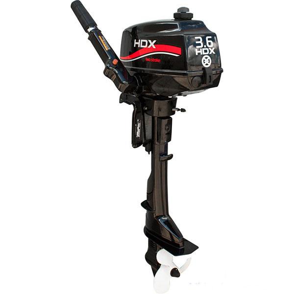 Лодочный мотор 2-х тактный HDX R series T 3,6 СBMSЛеска плетеная<br>Мотор HDX T 3,6 BMS пользуется популярностью <br>среди двухтактных моторов HDX. Главные преимущества <br>- это компактность и малый вес. Мотор HDX T <br>3,6 BMS - идеальное решение для гребных лодок <br>ПВХ с навесным транцем. Мощность одноцилиндрового <br>двигателя - 3,6 л...<br>