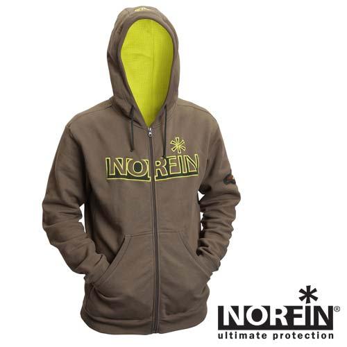 Kуртка Norfin Hoody Green (L, 710003-L)