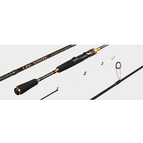 Спиннинг Lucky John One Sensoric Micro Jig &amp; Rockfishing 6 7.32Спинниги<br>Удилище спин. Lucky John One Sensoric MICRO JIG &amp; ROCKFISHING <br>6 7.32 дл.7.32ft(2.22)м/тест 0.8-6/строй F/кл.UL/вес /2ч./дл.тр.113см <br>Lucky John Micro Jig &amp; Rockfishing Hihg Sensoric Mission – серия <br>удилищ, специально разработанная для ловли <br>на микроджиг. Эти сверхлегкие, высокого <br>класса спиннинги, изготовлены из высокомодульного <br>графита и укомплектованы качественной <br>фурнитурой Fuji. При всей своей изящности, <br>удилища обладают высоким сдерживающим <br>ресурсом, что помогает в борьбе с крупной <br>и сильной рыбой. Вклеенная вершинка белого <br>цвета позволяет визуально отслеживать <br>проводку легкой приманки и любые прикосновения <br>к ней осторожной рыбы. Материал бланка – <br>графит 40T, пропускные кольца и их расстановка <br>– Fuji KR Concept. Кольца в титановой оправе. Удобная <br>разнесенная рукоятка, выполненная из материала <br>EVA, идеально ложится в руку рыболова.<br><br>Сезон: лето