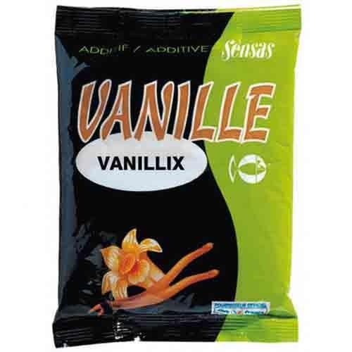 Добавка В Прикормку Sensas Vanillix 0.3КгАроматизаторы<br>Добавка в прикормку Sensas VANILLIX 0.3кг сух.порошок/ваниль/плотва/1 <br>пакет на 3кг/уп.0,3кг Данная добавка с ванильным <br>ароматом привлекательна для большинства <br>видов рыбы, особенно для крупной плотвы. <br>Так же она является основой для многих других <br>добавок.<br><br>Сезон: лето