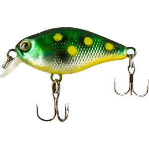 Воблер Trout Pro Minor Crank 30F / 523Воблеры<br>Маленький и быстрый микровоблер для ловли <br>различных видов рыб : голавля, язя и окуня. <br>Приманку так же удобно сплавить по течению <br>и облавливать мелководье.<br>