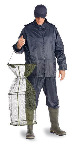 Костюм ВВЗ Рыбак нейлоновый т-синий (XXXL)Костюмы<br>Куртка и брюки. На воротнике карман на молнии <br>для капюшона. Швы проклеены изнутри.<br><br>Пол: мужской<br>Размер: XXXL<br>Сезон: демисезонный<br>Цвет: синий<br>Материал: текстиль