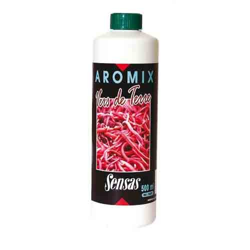 Ароматизатор Sensas Aromix Earthworm 0.5ЛАроматизаторы<br>Ароматизатор Sensas AROMIX Earthworm 0.5л жидк.аттракт./червь/10-25% <br>от объема воды/уп.0,5л Добавка с ароматом <br>вытяжки из натурального земляного червя. <br>Может использоваться как летом, так и зимой. <br>Привлекательна для большинства видов рыб, <br>в частности для крупного леща.<br><br>Сезон: лето