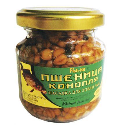 Пшеница - конопля консервир. 110 мл клубникаНасадки<br><br>