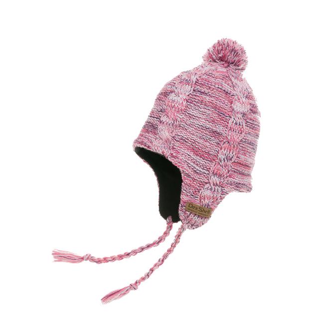 Водонепроницаемая шапка DexShell, розовая Шапки<br>Описание водонепроницаемой шапки DexShell <br>DH392-OH:Водонепроницаемая шапка DexShell обеспечивает <br>эффективную защиту в жестких погодных условиях. <br>Защищает не только от влаги, но и от самого <br>сильного ветра. В шапке DexShell вы будете чувствовать <br>чувствовать себя комфортно на охоте или <br>на зимней рыбалке. Водонепроницаемая шапка <br>обеспечит вам тепло и комфорт во время катания <br>на лыжах или сноуборде, занятий альпинизмом <br>или езды на велосипеде в холодное время <br>года. Из чего состоит водонепроницаемая <br>шапка DexShell? Шапка DexShell состоит из трех слоев: <br>—Главный функциональный слой — мембрана <br>Porelle®, которая производится в Англии. Именно <br>она делает шапку DexShell водонепроницаемой, <br>и главное — отвечает за эффективное потоотведение. <br>Работает эластичная и прочная мембрана <br>Porelle® благодаря разнице температур внутри <br>и снаружи шапки. —Внутренний слой состоит <br>из микрофлиса. Это мягкий и легкий материал, <br>изобретенный специалистами компании Polartec®. <br>Особая структура волокна позволяет быстро <br>отводить влагу с поверхности тела - что <br>особенно важно при интенсивных физических <br>нагрузках. —Внешний акриловый слой делает <br>шапку DexShell легкой, устойчивой к изнашиванию, <br>а также помогает сохранять форму. Характеристики:Внешний <br>слой: акриловое волокно Мембранная вставка: <br>эластичная, водонепроницаемая и дышащая <br>мембрана Porelle® Внутренний слой: микрофлис <br>Рекомендации по уходу за шапкой: Как стирать <br>шапку DexShell: Стирать шапку необходимо вручную <br>в прохладной воде (не более 40°C). Как сушить <br>шапку DexShell: Сначала необходимо высушить <br>шапку вывернутой наизнанку, а затем - с лицевой <br>стороны на открытом воздухе. Чтобы не повредить <br>мембрану, запрещается сушить шапку утюгом, <br>на батареях или возле костра. В водонепроницаемой <br>шапке DexShell вам будет тепло и комфортно в <br>самых экстремальных 