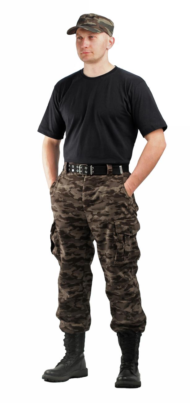Брюки мужские Капрал Твилл Пич Нато серый Брюки неутепленные<br>-два врезных кармана и два накладных объемных <br>кармана с клапаном на липучке. -пояс со шлевками <br>под широкий ремень -центральная застежка <br>на молнию -низ брюк регулируется<br><br>Пол: мужской<br>Размер: 48-50<br>Рост: 182-188<br>Сезон: лето<br>Материал: Смесовая (65% полиэфир, 35% хлопок), пл. 210 г/м2,