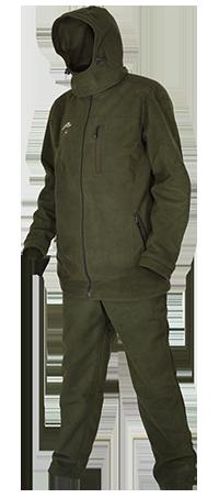 Костюм мужской Ирбис (Хаки) демисезон,флис,мембрана, Костюмы неутепленные<br>Костюм для охоты, рыбалки и активнго отдыха <br>в межсезонье. В комплект входит: куртка <br>и брюки. Изготовлен из современной ткани <br>«Windblok», имеющей трехслойную структуру. <br>Наружный слой - полар-флис, обработанный <br>водоотталкивающей пропиткой, внутренний <br>- флис, между ними - мембрана, которая скрепляет <br>оба слоя. Такая комплексная структура ткани <br>является оптимальной для защиты организма <br>человека от ветра, влаги и переохлаждения. <br>В условиях холодной и ветреной погоды костюм <br>«Ирбис» сохраняет больше тепла при меньшем <br>количестве нижней одежды и обеспечивает <br>потрясающую свободу движений. Под такой <br>костюм достаточно одеть термобелье и Вы <br>будете комфортно себя чувствовать поздней <br>осенью на ходовой или загонной охоте. В <br>местах истирания нашиты дополнительные <br>защитные элементы из плотной ткани. При <br>изготовлении швейных изделий применяются <br>высокопрочные нитки Guterman (Германия), двойной <br>джинсовый запошивочный шов. Комфортная <br>температура эксплуатации от -5°С до +10°С.<br><br>Сезон: демисезонный