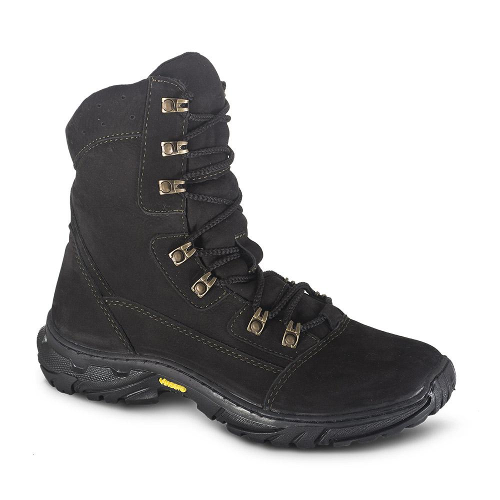Ботинки ХСН Странник зима (598-3) (Черный, Ботинки для активного отдыха<br>Отлично подойдут для охоты, рыбалки и активного <br>отдыха зимой. Комфортная температура эксплуатации: <br>от -15° до - 0°С. Особенности: - поддаются аэрозольной <br>обработке; - обладают дышащими свойствами; <br>- легкие и прочные; - глухой клапан; - потоотводящий <br>материал cambrelle; - усиливающие элементы в <br>носовой и пяточной частях; - металлический <br>супинатор; - противоскользящая подошва.<br><br>Размер: 41<br>Сезон: зима<br>Цвет: черный<br>Материал: Нубук