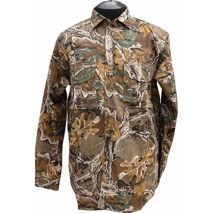 Рубашка ХСН Фазан (9486-1) (Дубок, 56/182-188, 9486-1)Рубашки д/рукав<br>Рубашка мужская подходит для ношения в <br>летний сезон. На рубашке есть накладные <br>карманы. Для защиты от влаги материал обработан <br>водоотталкивающей пропиткой. Комфортная <br>температура эксплуатации: от +20°С до +30°С.<br><br>Пол: мужской<br>Размер: 56/182-188<br>Сезон: лето<br>Цвет: коричневый<br>Материал: 100% хлопок