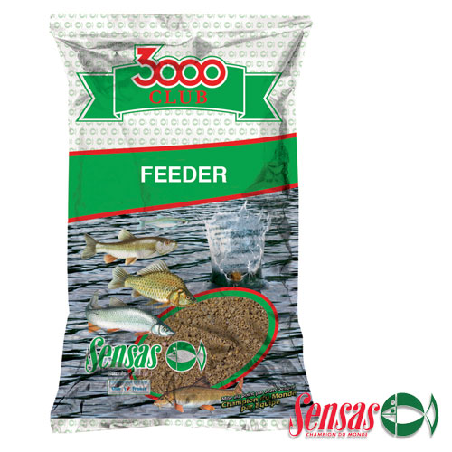Прикормка Sensas 3000 Club Feeder Bream 1Кг