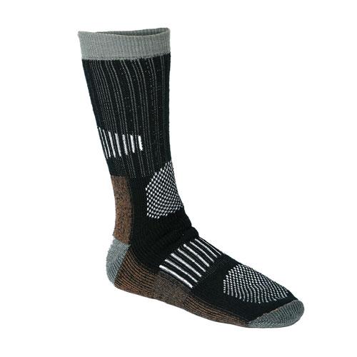 Носки Norfin ComfortНоски<br>Носки Norfin COMFORT р.L(42-44) разм.(42-44)/18%полиэстр, <br>75%акрил, 5%нейлон, 2%эластан/темп. Оч.холодно <br>Носки, в которых Ваши ноги будут всегда <br>в тепле и сухими. Мягкий внутренний материал <br>– полиэстер и внешний – акрил, обеспечат <br>ногам высокие комфорт- ные условия. Достоинства <br>материала, из которого они изготовлены, <br>непременно оценят рыболовы и охотники.<br><br>Пол: мужской<br>Размер: L<br>Сезон: зима<br>Цвет: серый