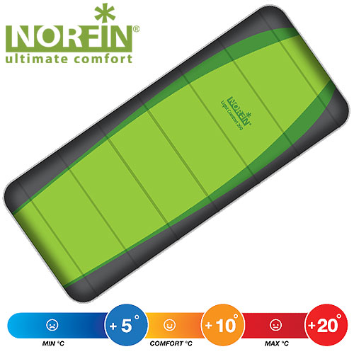 NORFIN Мешок Спальный Light Comfort 200 Nf L NF-30201