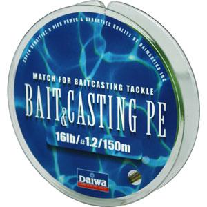 Леска Daiwa Bait Casting Pe 16 LbЛеска плетеная<br>Леска плетеная Bait &amp; Cast PE - изначально была <br>адаптирована производителем под мультипликаторные <br>катушки. Сравнивая с классическими PE шнурами, <br>у лески плетеной Daiwa Bait &amp; Casting прослеживается <br>в несколько раз большая жесткость. Это преимущество <br>с бол...<br>