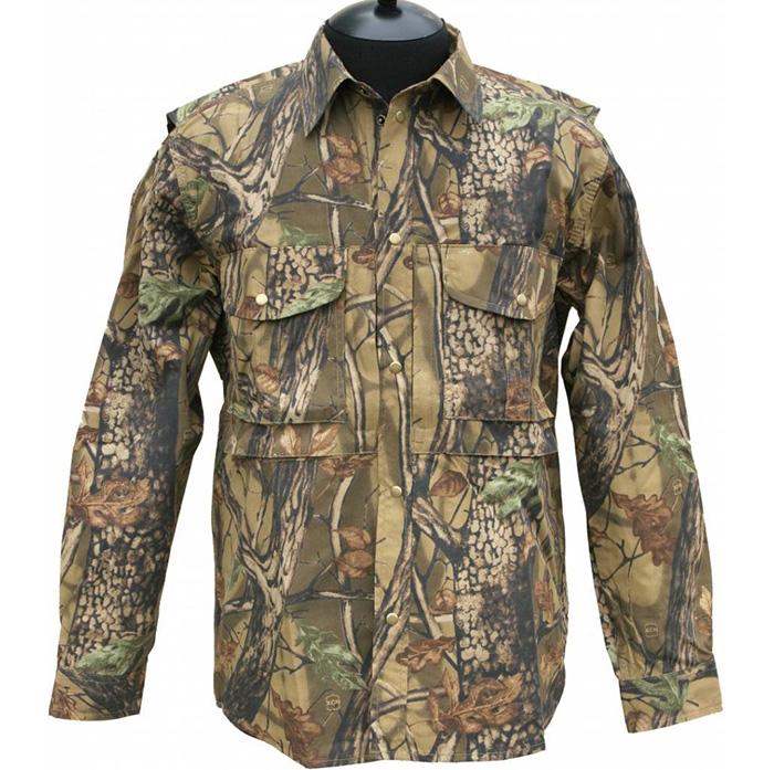 Рубашка ХСН рыбака-охотника (965-2) (Лес, 46/182-188, Рубашки д/рукав<br>Подойдет для ношения летом. На рубашке <br>имеются накладные карманы. Для защиты от <br>влаги материал обработан водоотталкивающей <br>пропиткой. Комфортная температура эксплуатации <br>от +20°С до +30°С.<br><br>Пол: мужской<br>Размер: 46/182-188<br>Сезон: лето<br>Цвет: коричневый<br>Материал: 100% хлопок