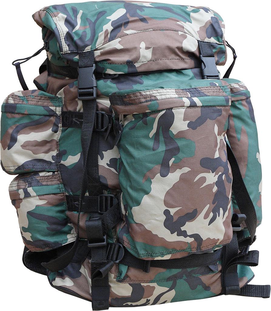 Рюкзак охотника ХСН №2 (70 литров) (Камуфляж, Рюкзаки<br>Отлично подойдет любителям активного отдыха <br>и походов. Изготовлен из водооталкивающего <br>материала. Объем 70 литров. Особенности: <br>- специальная система для крепления оружия; <br>- съемный карман; - S образные анатомические <br>лямки; - удобный поясной ремень; - четыре <br>наружных кармана на молнии; - объемный клапан <br>с карманом; - грудной фиксатор; - пряжки-самосбросы.<br><br>Пол: унисекс<br>Сезон: Всесезонная<br>Цвет: зеленый<br>Материал: Oxford 600 D PU рип-стоп