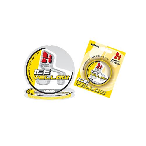 Леска Монофильная Зимняя Salmo Hi-Tech Ice Yellow • 030/015 4942-015