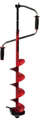 Ледобур VISTA RH-4110 110мм, сферические ножиЛедобуры ручные<br>1.Двуручный. Вращение правое (по часовой <br>стрелке) 2. Ручки – морозоустойчивый, рифленый <br>пластик. 3. Современная конструкция замка. <br>4. Выдвижная штанга-удлинитель. 5. Шнек (модель <br>RHXL с удлиненным шнеком), витки шнека без <br>сварки. 6. Режущая головка ледобура имеет <br>ребро жесткости. 7. Ножи – сферические. 8. <br>Упаковка – индивидуальная картонная коробка. <br>9.Диаметр сверления 110 мм 10. Вес 3,3 кг.<br>
