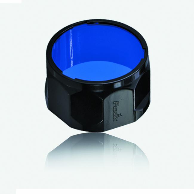 Фильтр Fenix AOF-L синийАксессуары к фонарям<br>Высококачественный светофильтр для фонарей <br>от компании Fenix. Светофильтр используется <br>для охоты на дичь. Образец с успехом может <br>быть использован как в сумерках, так и в <br>темное время суток.Светофильтр изготовлен <br>из высококачественного поливинилхлорида <br>(ПВХ), стойкого к механическому воздействию, <br>нагреву и перепадам температур. Фильтр <br>является прекрасным дополнением к фонарям <br>Fenix E40, E50, LD41, TK22, TK22 (2014 ed.), RC15, UC45. Отличное <br>решение для любителей ночной охоты.Окрашивает <br>свет в синий цветСохраняет сумеречное зрение<br>