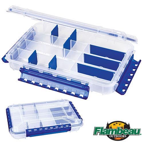 Коробка Рыболовная Пластмассовая Flambeau Waterproof Tt 4 Zerust WP4005