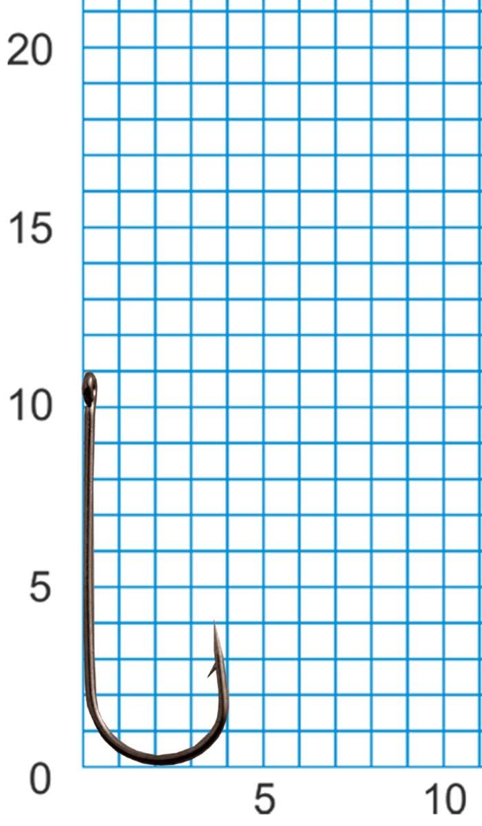 Крючок SWD SCORPION ROUND №14BLN W/R (10шт.)Одноподдевные<br>Бюджетный классический одинарный крючок <br>с колечком. Технологии производства: - для <br>производства крючков используется высококачественная <br>углеродистая легированная проволока; - <br>применяются новейшие технологии термообработки; <br>- стойкое антикоррозийное покрытие; - электрохимическая <br>заточка жала. Размер крючка - №14 Цвет - черный <br>никель Количество в упаковке - 10шт.<br>