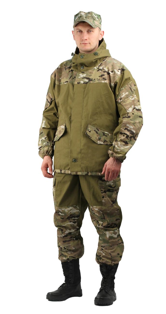 Костюм мужской Горка 3 летний палатка Костюмы неутепленные<br>Куртка: • свободного кроя; • застёжка центральная <br>супатная, на петлю и пуговицу; • кокетка, <br>накладки и карманы из отделочной ткани; <br>• 2 нижних прорезных кармана с клапаном, <br>на петлю и пуговицу ; • внутренний отлетной <br>карман на пуговицу; • на рукавах по 1 накладному <br>наклонному карману с клапаном на петлю <br>и пуговицу • в области локтя усиливающие <br>фигурные накладки; • низ рукавов на резинке; <br>• капюшон двойной, с козырьком, имеет утягивающую <br>кулису для регулировки по объему ; • подгонка <br>по талии с помощью кулиски; Брюки: • свободного <br>покроя; • гульфик с застёжкой на петлю и <br>пуговицу; • 2 верхних кармана в боковых <br>швах, • в области коленей, на задних половинках <br>брюк в области сидения – усиливающие накладки; <br>• 2 боковых накладных кармана с клапаном; <br>• 2 задних накладных фигурных кармана на <br>пуговицах; • крой деталей в области коленей <br>препятствует их вытягиванию; • Пылезащитная <br>юбка из бязи по низу брюк; • задние половинки <br>под коленом собраны резинкой; • пояс на <br>резинке; • низ на резинке;<br><br>Пол: мужской<br>Размер: 52-54<br>Рост: 182-188<br>Сезон: лето<br>Материал: «Палаточное полотно» (100% хлопок), пл. 270