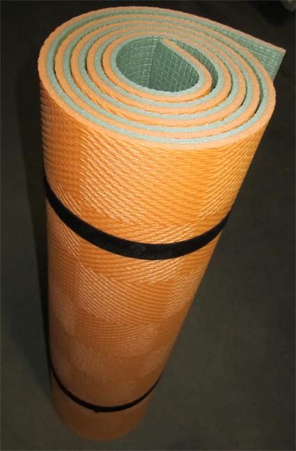 Коврик WoodLand Forest Lux 10 (1800x600x10 мм, цвет хаки/оранж.) коврик woodland forest 10 camo