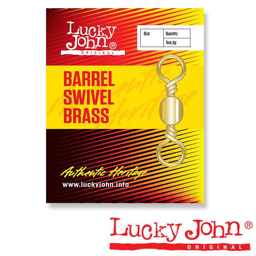 Вертлюги Lucky John Barrel Brass 005 5Шт.Вертлюги<br>Вертлюги Lucky John BARREL Brass 005 5шт. тест 30кг/кол.в <br>уп.5шт. Ни одна рыболовная оснастка не обходится <br>без этих необходимых мелочей. Если не применять <br>эти связующие элементы или использовать <br>их сомнительного качества, рыбалка наверняка <br>будет испорчена. Ведь в подавляющем большинстве <br>случаев, на рыбалке эти мелочи просто необходимы! <br>С их помощью можно предотвратить закручивание <br>и запутывание лески, привязать подвижный <br>отводной поводок, быстро поменять воблер <br>или блесну на спиннинге. Представленная <br>группа, состоящая из застежек, вертлюжков-застежек, <br>вертлюжков и заводных колец, изготовлена <br>на специализированном заводе. Поэтому, <br>любое из этих изделий соответствует рыболовным <br>параметрам, указанным на упаковке.<br><br>Сезон: Летний
