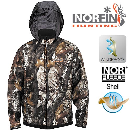 Куртка Norfin Hunting Thunder Staidness/black 72100