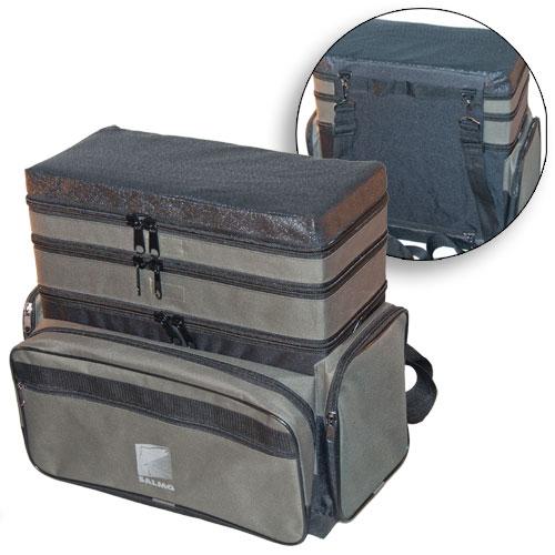 Ящик-Рюкзак Рыболовный Зимний Пенопластовый Ящики рыболова<br>Ящик-рюкзак рыболов. зим. пенопл. 3-х ярус. <br>H-3LUX пенопл.в сумке/3 яр./разм.40х19х43(см) Ящик-сумка-рюкзак <br>зимний рыболовный из плотного авиационного <br>пенопласта. Внутренний объём - 3+3+16 литров<br><br>Сезон: Зимний