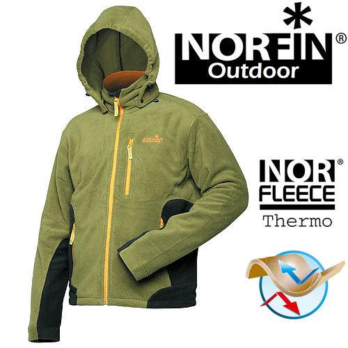 Куртка Флисовая Norfin Outdoor (S, 475001-S)