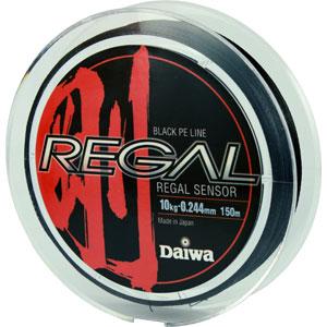 Леска Daiwa Regal Sensor 10-150Леска плетеная<br>Плетеный шнур с большим запасом прочности, <br>и максимально круглым сечением.<br>