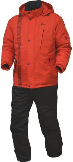 Костюм ХСН ЛИС демисезонный (С205-1) (Мандарин/черный, Костюмы утепленные<br><br><br>Пол: мужской<br>Размер: 50 - 52 / 182<br>Сезон: демисезонный<br>Цвет: красный