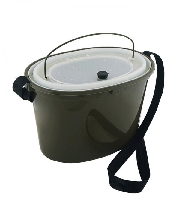 Кан живцовый (8л.) КО-08 (Три Кита)Емкости<br>Кан пластмассовый оборудованный крышкой <br>и сеткой объемом 8 литров. Сетка легко вынимается, <br>что позволяет легко сменить воду.<br>