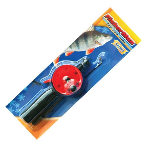 Удочка Зимняя Fisherman Ice Rod MiniУдочки зимние<br>Удочка зим. Fisherman ICE ROD MINI рукоят.неопр.корот./блист. <br>Удочка с открытой шпулей, короткой неорпеновой <br>рукояткой и клавишным стопором. Хлыстик <br>оснащён металлическим тюльпаном с керамической <br>вставкой.<br><br>Сезон: зима