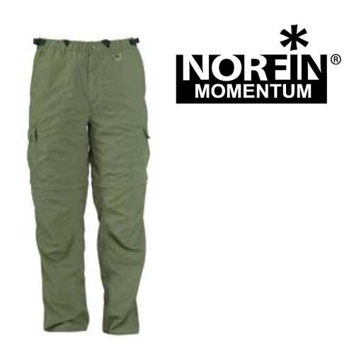 Штаны-Шорты Norfin Momentum (XL, 661004-XL)Брюки неутепленные<br>Универсальные летние штаны-шорты изготовлены <br>из быстро сохнущего материала. Материал <br>выводит влагу на наружный слой, где она <br>быстро испаряется. Идеально подойдут для <br>любителей охоты, рыбалки и активного отдыха. <br>Особенности: - два боковых кармана; - два <br>объемных кармана; - два задних кармана; - <br>эластичный пояс; - свободный крой - усиленный <br>материал в области колен; - пояс на резинке; <br>- шлевки под ремень; - съемные штанины.<br><br>Пол: мужской<br>Размер: XL<br>Сезон: лето<br>Цвет: оливковый<br>Материал: текстиль