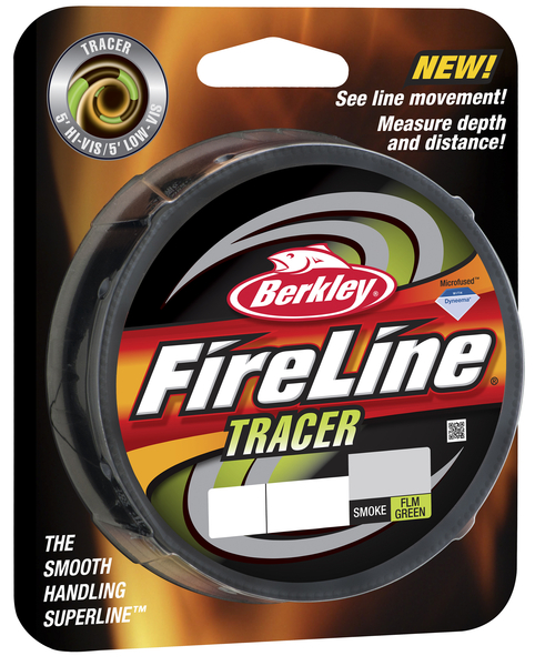 Леска плетеная BERKLEY FIRELINE FUSED TRACER 0.12mm (110m)(6.8kg)(зеленая/черная)Леска плетеная<br>Новая версия шнура с чередованием участков <br>двух цветов дает вам еще больше преимуществ. <br>Вы лучше видите шнур при забросе, так как <br>чередующие цвета создают мелькание, повышающее <br>четкость. Используйте смену цветов, чтобы <br>считать глубину погружения приманки, чтобы <br>немного изменив ее, провести приманку выше <br>или ближе ко дну.<br>