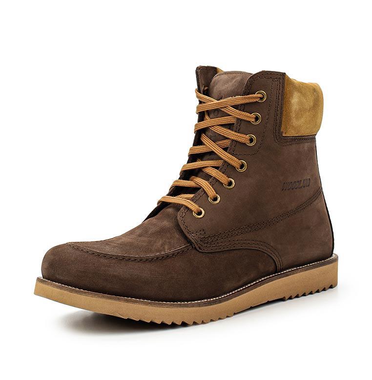 Ботинки мужские GB1277113, цвет темно-коричневый, Кроссовки<br><br><br>Пол: мужской<br>Размер: 43<br>Сезон: демисезонный<br>Цвет: коричневый