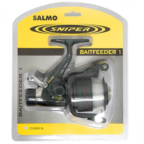 Катушка Безынерционная Salmo Sniper Baitfeeder 1 40Br Безынерционные<br>Катушка безынерц. Salmo Sniper BAITFEEDER 1 40BR блистер <br>BR/1ш.п./380г/5.2:1/175м-0.30мм/шп.1С/блистер Специализированная <br>катушка, предназначенная для ловли рыбы <br>на донные оснастки. Мощная среднескоростная <br>катушка обеспечивает эффективное вываживание <br>любой попавшейся на крючок рыбы. Система <br>BAITFEEDER, используемая в данной модели катушки, <br>обеспечивает необходимую величину настройки <br>стравливания лески при поклевке рыбы любого <br>размера. • Тормоз фрикционный передний <br>FD • 1 подшипник шариковый • Система стравливания <br>лески с включателем рамочным • Корпус карбопластовый <br>• Шпуля пластиковая (графитовая) • Ролик <br>лесоукладывателя конусный увеличенный <br>(противозакручиватель) • Покрытие износостойкое <br>нитридом титана: - ролика лесоукладывателя <br>• Рукоятка: - с винтовым типом фиксации <br>- с возможностью право/левосторонней установки <br>• Блистерная упаковка<br><br>Сезон: лето