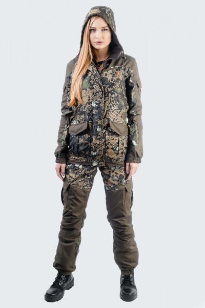 Женские зимние костюмы для рыбалки и охоты - купить недорого | Лабаз