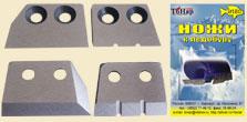 Ножи для ледобура ЛР-180 (2шт.)Ледобуры ручные<br>На ледобур диаметром 180 мм устанавливаются <br>сразу четыре ножа, на рабочей поверхности <br>внешних ножей выполнены канавки. Ножи изготовлены <br>из высокоуглеродной легированной стали, <br>имеют объемную закалку и высокую твердость, <br>что позволяет многократно перетачивать <br>ножи без ухудшения их первоначальных свойств.<br>