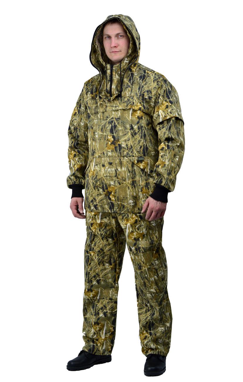 Костюм противоэнцефалитный летний, тк. Костюмы противоэнцефалитные<br>Куртка и брюки. Куртка - с капюшоном, - со <br>съемной вставкой из противомоскитной сетки <br>на молнии, - с накладными нагрудными карманами <br>с клапаном. - рукава с трикотажными напульсниками. <br>- с налокотниками. Брюки - прямые с эластичной <br>лентой в притачном поясе со шлевками, - с <br>трикотажными манжетами по низу брюк. - с <br>наколенниками<br><br>Пол: мужской<br>Размер: 52-54<br>Рост: 182-188<br>Сезон: лето